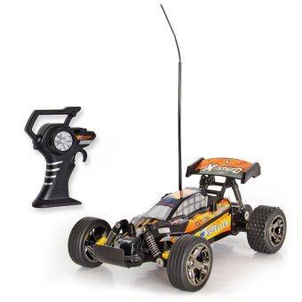 Hitech Mad Runner X Speed รถบักกี้บังคับวิทยุ 5512 (สีส้ม/ม่วง)