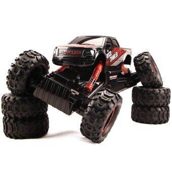 Hitech รถไต่หิน 2.4ghz 4WD Rock Crawler 1:14 (BLACK)
