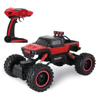 Hitech รถไต่หิน 4WD Rock Crawler 2.4ghz Scale 1:14 ( RED)