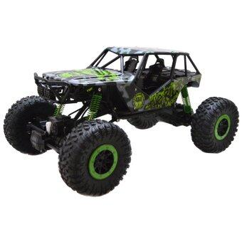 Hitech รถไต่หิน HB - P1003 Rock Crawler 4WD 2.4ghz - (สีเขียว)