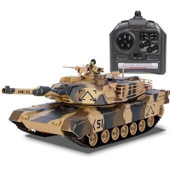Hitech รถถังบังคับวิทยุ รุ่น M1A2 scale 1/16