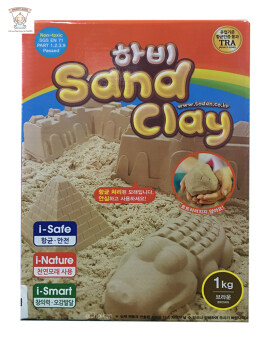 Hobby Sand Clay ทรายเกาหลี 1kg.