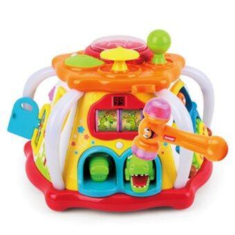 Huile Toys กล่องกิจกรรมใหญ่Interesting fun box large