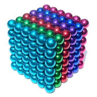 i win innovation ลูกบอลแม่เหล็กแรงสูง Neodymium ขนาด 5mm.216 ลูก (ชุด 6 สี)