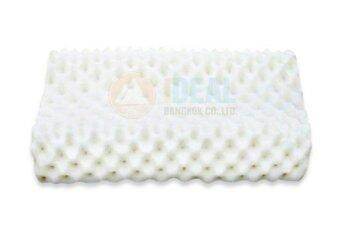 Ideal หมอนยางพาราเพื่อสุขภาพ 100% รุ่นทรงสี่เหลี่ยม (สีขาว)
