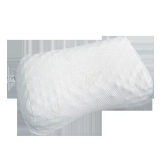 iNap หมอนยางพาราธรรมชาติ 100% รุ่น Durian Pillow P6 (light lemon)