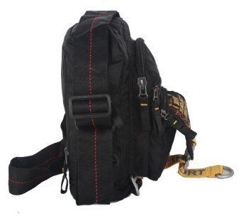 Innturt Nylon Messenger Shoulder Bag Sling Bag Daypack Casual (Black)