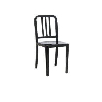 Inter Steel เก้าอี้กินข้าว สไตล์โมเดิร์น รุ่นเก้าอี้เหล็ก3I ( สีดำ )