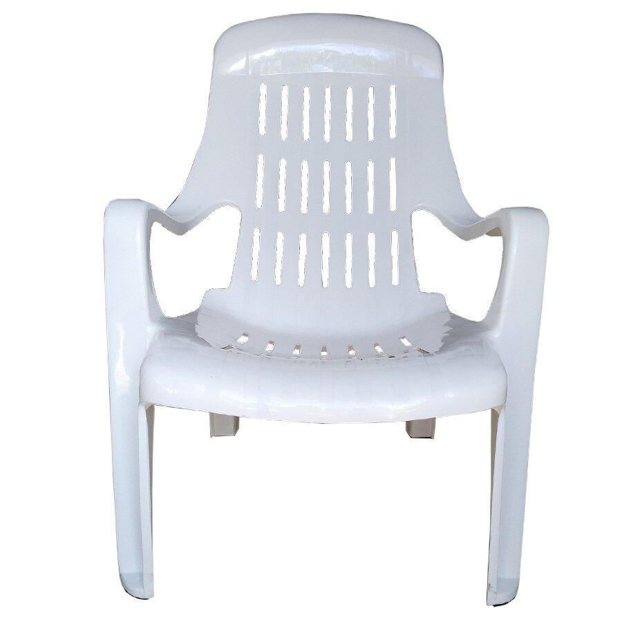 เช่าเก้าอี้ กรุงเทพ Inter Steel เก้าอี้พักผ่อน รุ่น เอนสบาย พลาสติกPP(A)- สีขาว Relaxing chair  plastic comfortable.