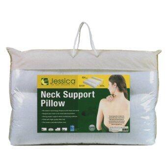 JESSICA หมอนเพื่อสุขภาพ หมอนหนุน เน็คซัพพอร์ทพิลโล Jessica Neck Support Pillow
