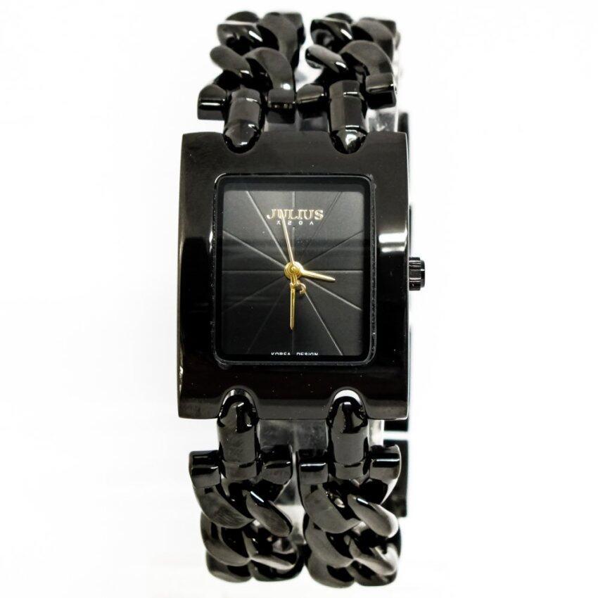 Julius นาฬิกาข้อมือผู้หญิง รุ่นJA-876-black ตรวจสอบราคาที่นี่