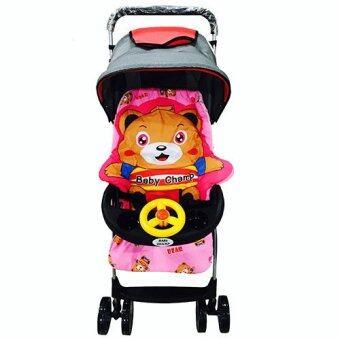 k.BABY รถเข็นเด็กทารก Teddy น่ารัก (สีชมพู)