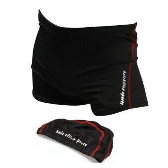 กางเกงว่ายน้ำชาย กางเกงว่ายน้ำผู้ชาย ชุดว่ายน้ำผู้ชาย สุดคุ้ม ซื้อ 1 ได้ถึง 2 (ชุดว่ายน้ำผู้ชาย + หมวกว่ายน้ำ)
