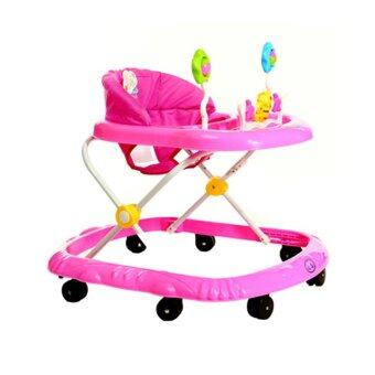 KAKUKI รถหัดเดิน สำหรับเด็กอายุ 1~3 ปี รุ่น SL-AA1 (สีชมพู)