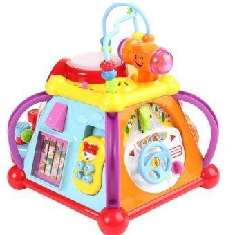 Kids Toys ของเล่น กล่องกิจกรรม 6 ด้าน