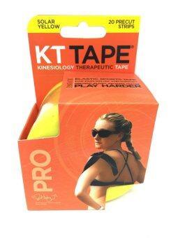 KT Tape Pro series เทปพยุงกล้ามเนื้อ เทปบำบัด (Yellow)