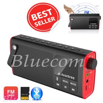 ลำโพงบลูทูธ พร้อมวิทยุ FM Bluetooth speaker รุ่น SP850 (สีดำ/แดง)