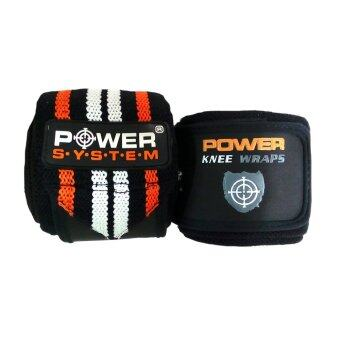 LandcoPOWER SYSTEM ผ้ารัด หัวเข่า Fitness Knee Wrap 8x200 cm. OR-OR