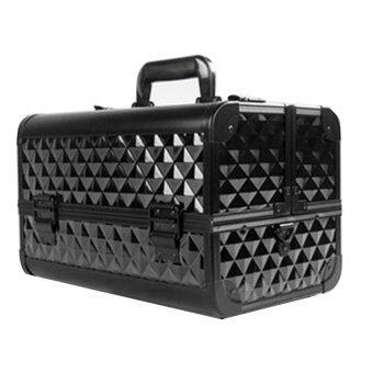 Madame Box_ กระเป๋าใส่เครื่องสำอางค์pixel pro bag #สีดำ