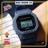 สุดยอดสินค้า!! นาฬิกาข้อมือ นาฬิกา Casio นาฬิกา Gshock รุ่น BGD-560DE-2A นาฬิกาผู้ชาย นาฬิกาผู้หญิง กันน้ำ - ของแท้ พร้อมกล่อง คู่มือ ใบรับประกัน CMG จัดส่ง kerry ทุกวัน มีประกัน 1 ปี สี น้ำเงิน ยีนส์