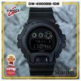 นาฬิกาข้อมือ นาฬิกา Casio นาฬิกา Gshock รุ่น DW-6900BB-1DRนาฬิกาผู้ชาย นาฬิกาผู้หญิง กันน้ำ - ของแท้ พร้อมกล่อง คู่มือ ใบรับประกัน CMG จัดส่ง kerry ทุกวัน มีประกัน 1 ปี
