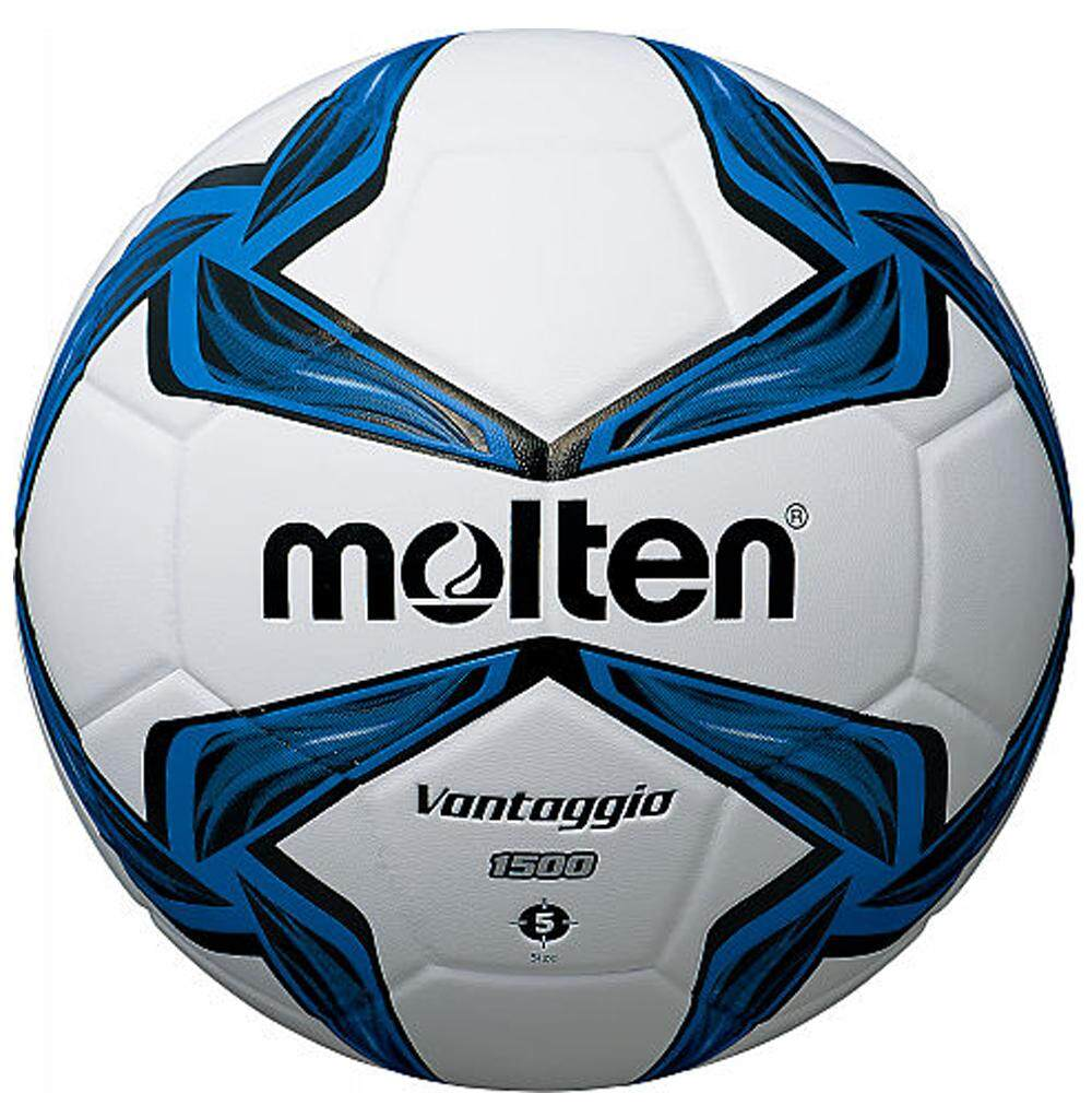ยี่ห้อนี้ดีไหม  พิจิตร ลูกฟุตบอลหนัง MOLTEN Football PVC F5V1500