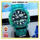 นาฬิกาข้อมือ นาฬิกา Casio นาฬิกา Gshock รุ่น GAX-100MSA-3A นาฬิกาผู้ชาย นาฬิกาผู้หญิง กันน้ำ - ของแท้ พร้อมกล่อง คู่มือ ใบรับประกัน CMG จัดส่ง kerry ทุกวัน มีประกัน 1 ปี สี เขียว