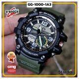 ขายดีมาก! นาฬิกาข้อมือ นาฬิกา Casio นาฬิกา Gshock รุ่น GG-1000-1A3 นาฬิกาผู้ชาย นาฬิกาผู้หญิง กันน้ำ - ของแท้ พร้อมกล่อง คู่มือ ใบรับประกัน CMG จัดส่ง kerry ทุกวัน มีประกัน 1 ปี สี ดำ เขียว