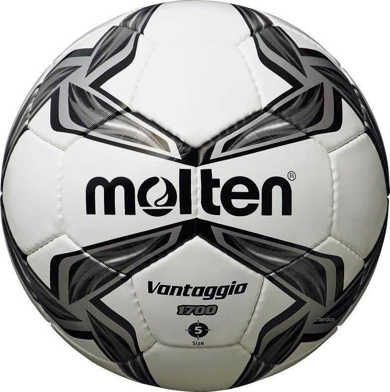 ยี่ห้อไหนดี  เพชรบุรี ลูกฟุตบอลหนังเย็บMOLTEN Football HS-PVC F5V1700