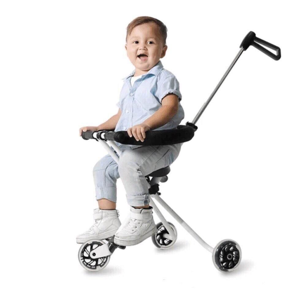 รถเข็นเด็ก 3ล้อ แบบใหม่แข็งแรง พับเก็บได้ รุ่น: BBW