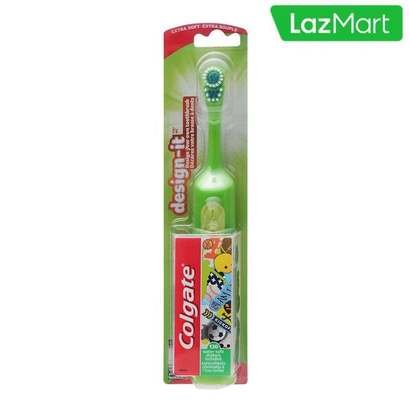 แปรงสีฟันไฟฟ้า ช่วยดูแลสุขภาพช่องปาก ชลบุรี COLGATE แปรงสีฟันไฟฟ้า คอลเกต ดีไซน์ อิท แพ็ค 1  คละสี