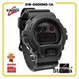 สุดยอดสินค้า!! นาฬิกาข้อมือ นาฬิกา Casio นาฬิกา Gshock รุ่น DW-6900MS-1Aนาฬิกาผู้ชาย นาฬิกาผู้หญิง กันน้ำ - ของแท้ พร้อมกล่อง คู่มือ ใบรับประกัน CMG จัดส่ง kerry ทุกวัน มีประกัน 1 ปี