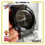 ลดสุดๆ นาฬิกาข้อมือ นาฬิกา Casio นาฬิกา Gshock รุ่น GA-100MB-1A นาฬิกาผู้ชาย นาฬิกาผู้หญิง กันน้ำ - ของแท้ พร้อมกล่อง คู่มือ ใบรับประกัน CMG จัดส่ง kerry ทุกวัน มีประกัน 1 ปี สี ดำ