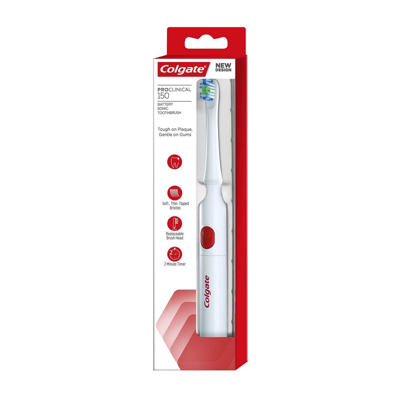 แปรงสีฟันไฟฟ้าเพื่อรอยยิ้มขาวสดใส น่าน COLGATE แปรงสีฟันไฟฟ้า คอลเกต โปรคลินิคอล 150 แพ็ค 1