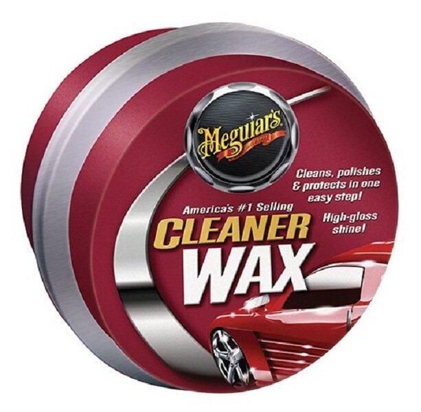 Meguiars A1214 Cleaner Wax Paste คลีนเนอร์แว็กซ์ แว็กซ์ขัดเคลือบสี ชนิดขี้ผึ้ง