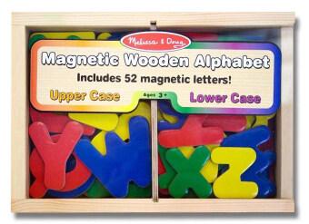 Melissa and Doug Alphabet Magnet A-Z ชุดตัวอักษรแม่เหล็ก 52 ชิ้น