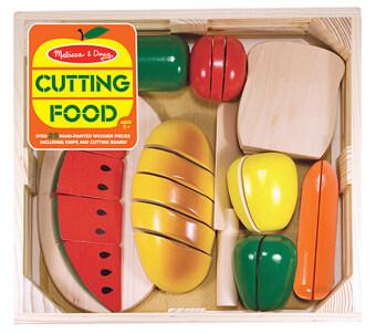 Melissa and Doug Cutting Food ชุดเล่นหั่นอาหาร