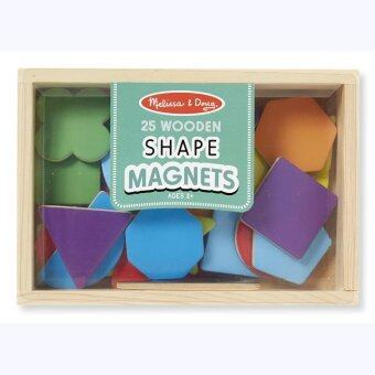 Melissa and Doug Magnetic Wooden ShapesColors