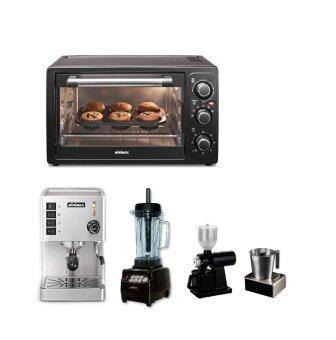 Minimex ชุดเครื่องชงกาแฟ พร้อมเตาอบ Set CoffeeBakery 1