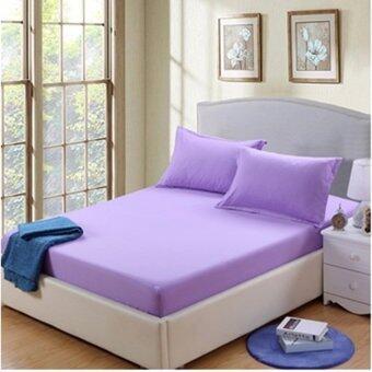 MLMP ชุดผ้าปูที่นอน ขนาด 6ฟุต(5ชิ้น)ไม่มีผ้านวม W-241