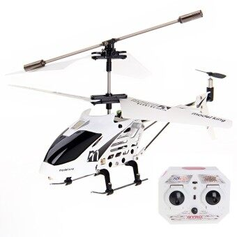 Model King 33008 Helicopter Built-in Gyro 3.5 CH- สีขาว
