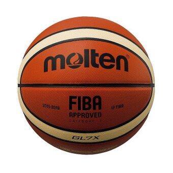 MOLTEN บาสเก็ตบอล รุ่น BGL7X FIBA ใช้ในการแข่งขัน ซีเกมส์ 2017