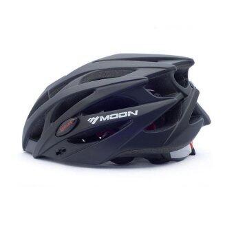 Moon หมวกกันน็อคขี่จักรยาน (สีดำ)