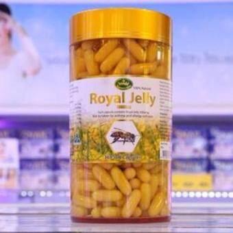 Nature's King Royal Jelly นมผึ้งแท้ 100% จากออสเตรเลีย (365 แคปซูล)
