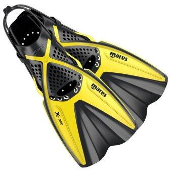 NEW 2016 Mares X-One Snorkelling Fins- Yellow