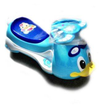 รถดุ๊กดิ๊กเป็ดน้อย (สีฟ้า)