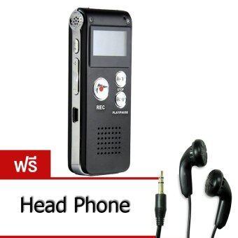 Recorder เครื่องบันทึกเสียง + MP3 รุ่น GH-906 8GB ฟรี Head Phone