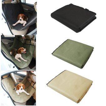 Ogi Pet Car Mat แผ่นรองกันเปื้อนสำหรับสุนัขในรถยนต์ แคปรถ SUV รถกระบะ (สีเขียว)
