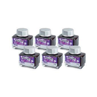 Online Pen Germany หมึกเติมแบบขวดปากกา ink bottles Lilac - 6 ขวด
