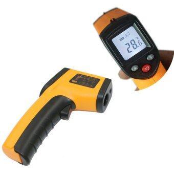 Otzi เครื่องวัดอุณหภูมิ เลเซอร์ อินฟาเรด เทอร์โมมิเตอร์อินฟาเรด แบบดิจิตอล Digital Infrared IR Thermometer Non-contact Laser Gun -50°C - 380°C